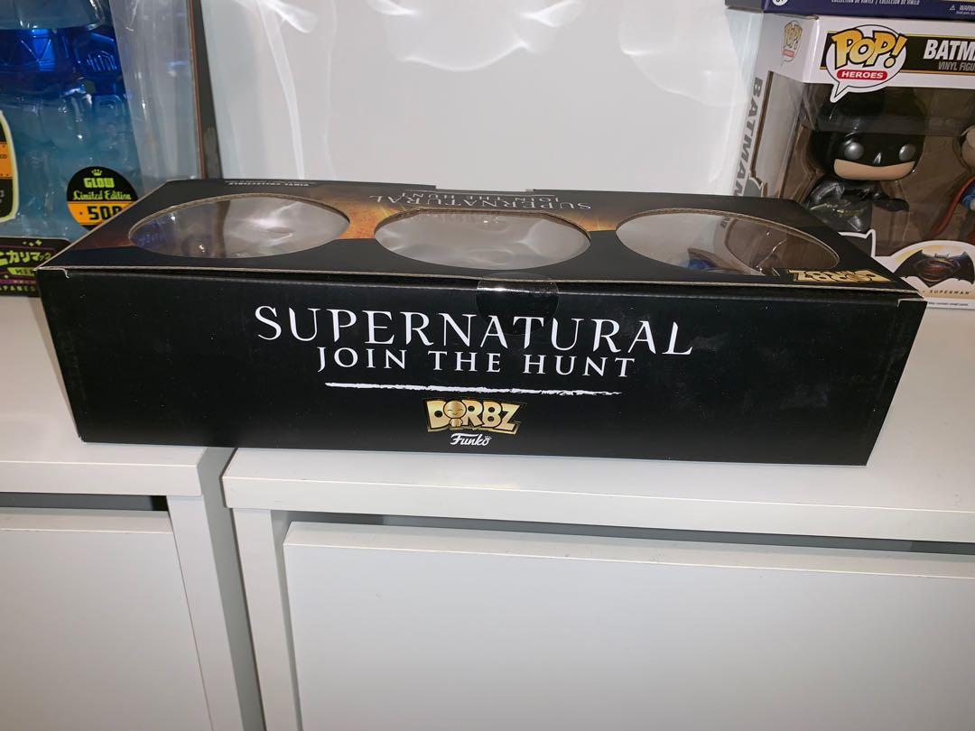 Supernatural 3 pack Dorbz Figure - Dean, Sam and Castiel
