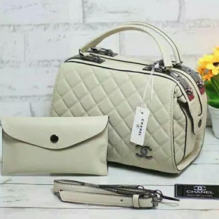 Tas Wanita Chanel Doctor- Tas Branded - Tas Import - Handbag Wanita