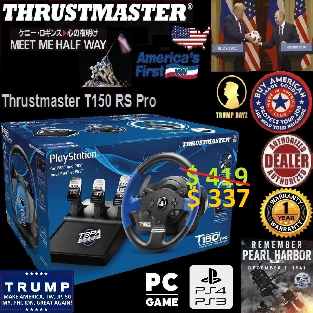 Thrustmaster T150 RS Pro Force Feedback Racing Wheel (PC/PS3