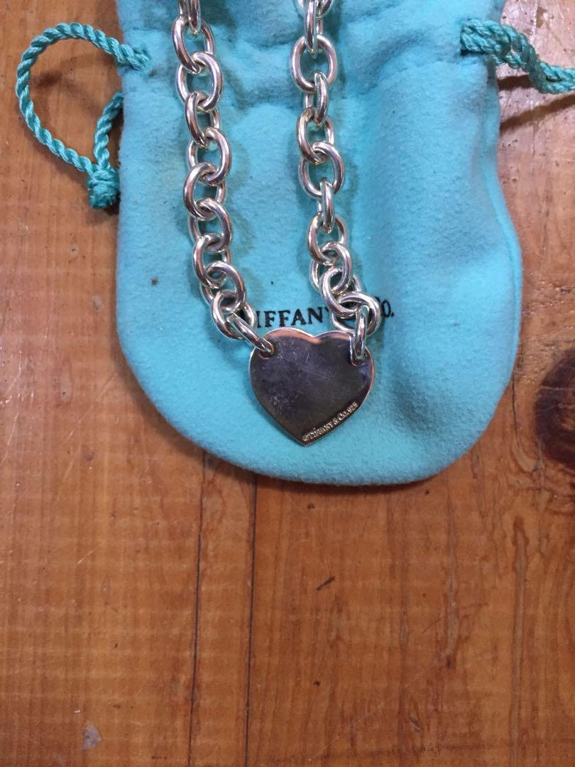 Tiffany & Co Heart Tag Bracelet New in Original Box and Gift Bag