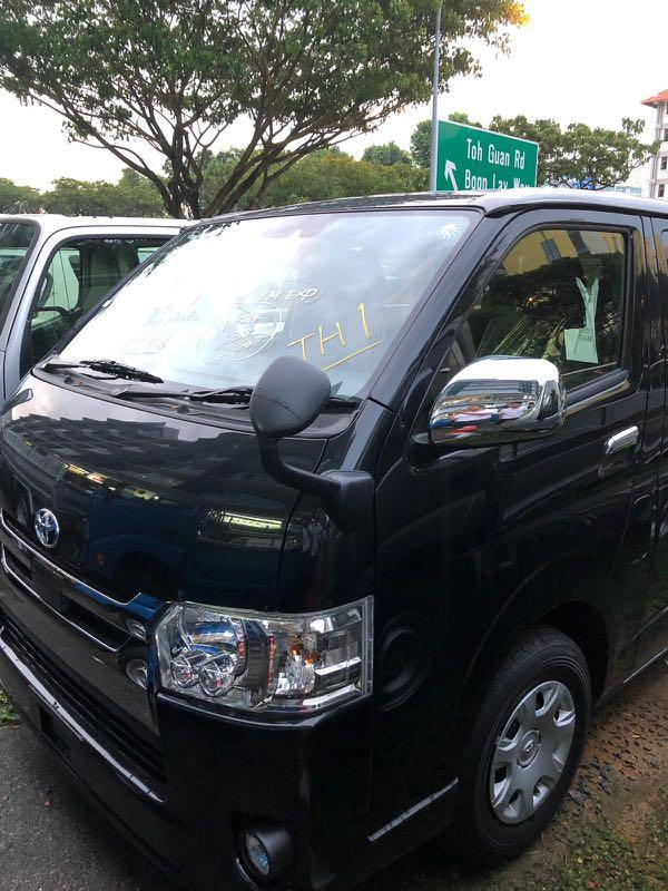 Brand New Toyota Hiace For Leasing