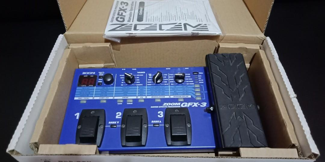 Zoom GFX-3 guitar multi -effects pedal on Carousell