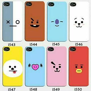 Kpop Phone Case | BTS - BT21 (Code I) | Preorder | Customise
