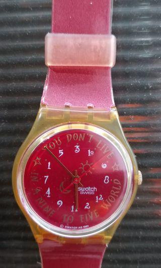 Jam swatch,Harga Nett
