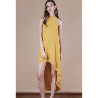 🚚 TTR Brielle Fishtail Dress Honey