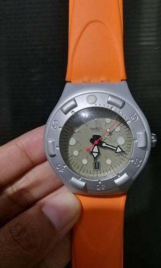 Swatch irony scuba