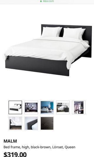 IKEA BED FRAME + MATTRESS