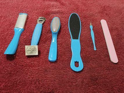 Dead skin removal kit
