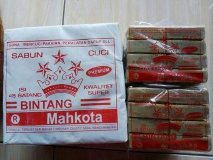 Sabun batang coklat