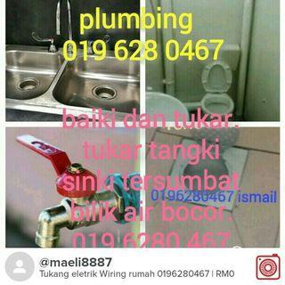 Tukang paip plumbing 0196280467