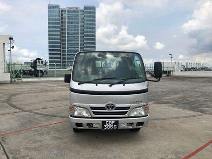 Toyota Dyna 150D With Hood