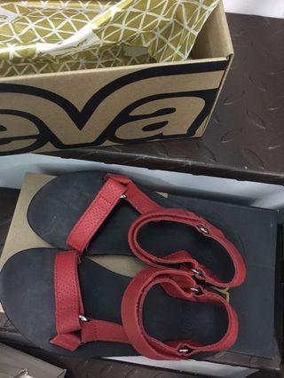 Teva sandals red