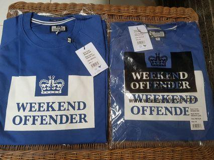 Sweater Weekend Offender Penitentiary Classic Reef Blue