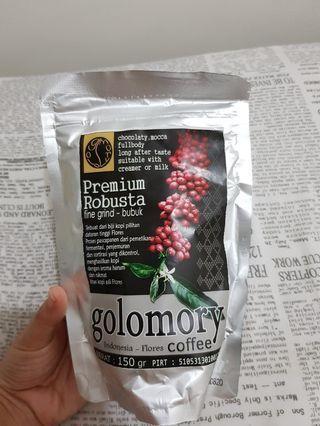 Golomory Coffee Premium Robusta 150grm