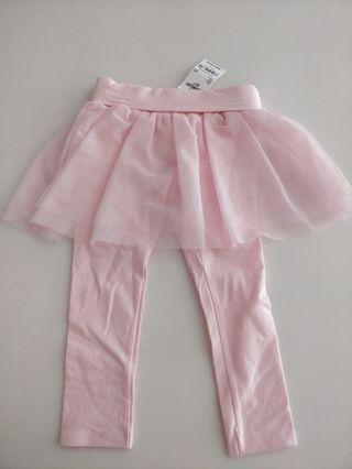 Osh kosh Girl tutu leggings