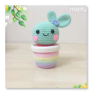 🌵Sweet Cactus Friend ( Mint Green )