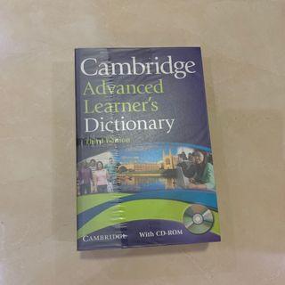 Cambridge advanced dictionary