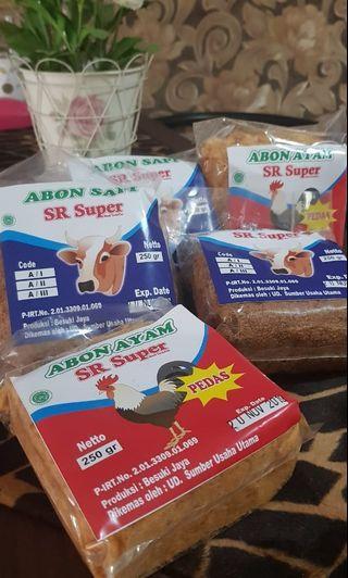 Abon Sapi dan Abon ayam super #ShopBackCarrousel