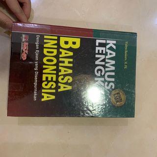 Kamus lengkap bahasa indonesia inggris