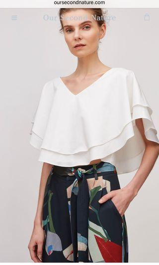 Cotton layered top