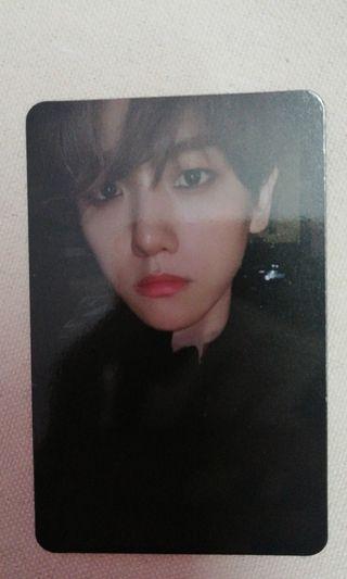 Baekhyun Photocard
