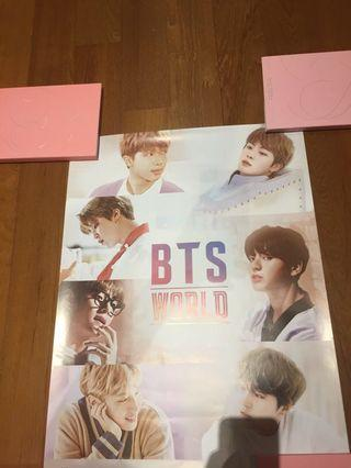 BTS WORLD POSTER
