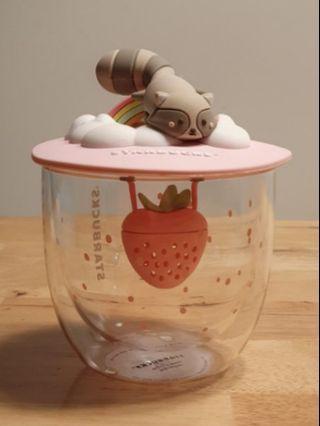 Starbucks Animal Wonderland Cup with tea infuser
