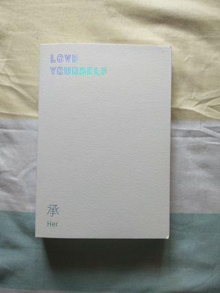 BTS LOVE YOURSELF:HER