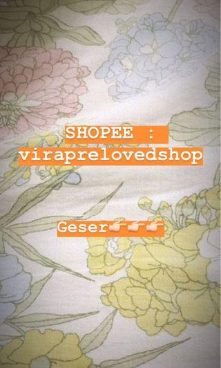 We are on shopee!