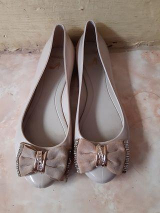 Jelly shoes peach