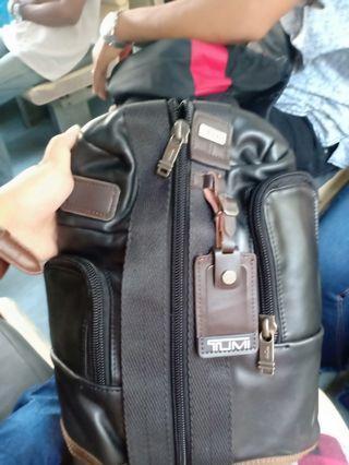 Tas kulit Tumi Original
