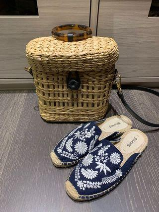 Soludos草編鞋 5.5號