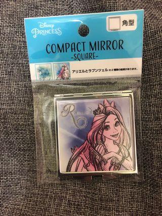 迪士尼長髮公主隨身鏡