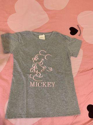 可愛百搭米奇T恤