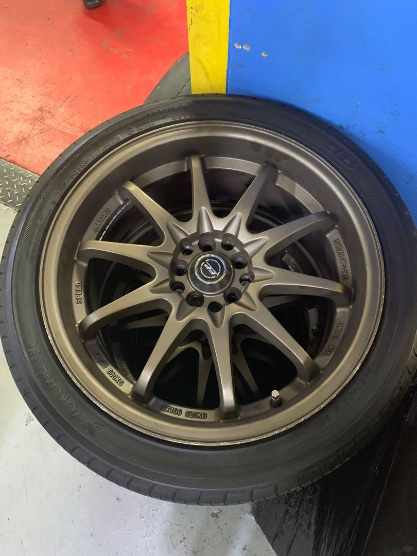 "18"" sport rims with multiple PCD (RIMS ONLY)"