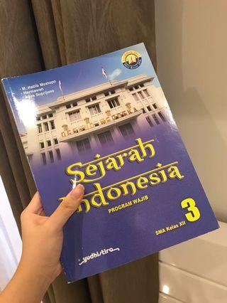 BUKU SEJARAH INDONESIA WAJIB KELAS 12 SMA 3 - YUDHIS TIRA