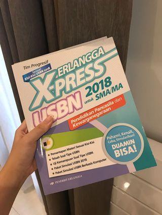 ERLANGGA X-PRESS BUKU SMA PPKN USBN