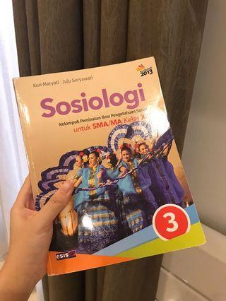 BUKU CETAK SOSIOLOGI KELAS 12 SMA 3 - KUN MARYATI & JUJU SURYAWATI