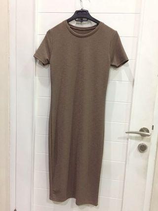 Woman bkk dress brown