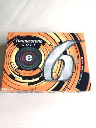 Brand new Bridgestone e6 golf balls