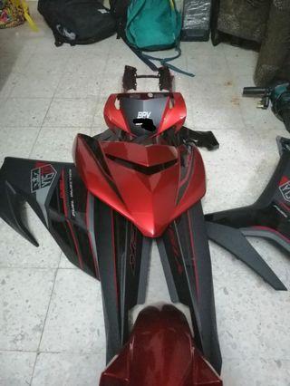 coverset Yamaha Y15ZR