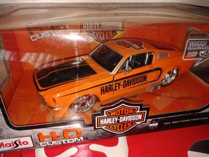 Diecast 1967 Ford Mustang GT
