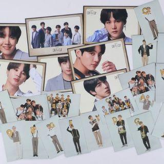 BTS 5th muster card