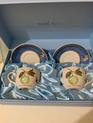 英國🇬🇧WEDGWOOD 咖啡杯盤禮盒