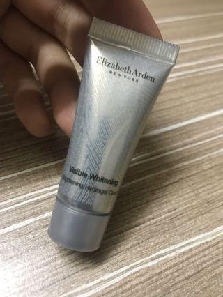 Elizabeth Arden whitening brightening hydrogel cream 5ml