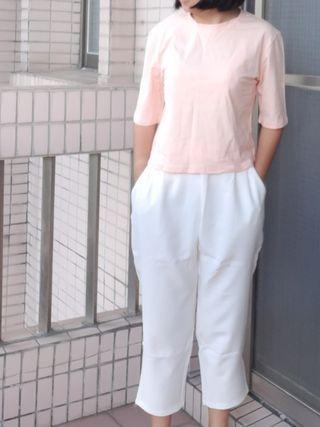 櫻花粉上衣