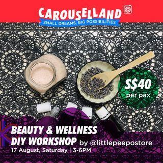 🚚 Natural Beauty & Wellness DIY Workshop