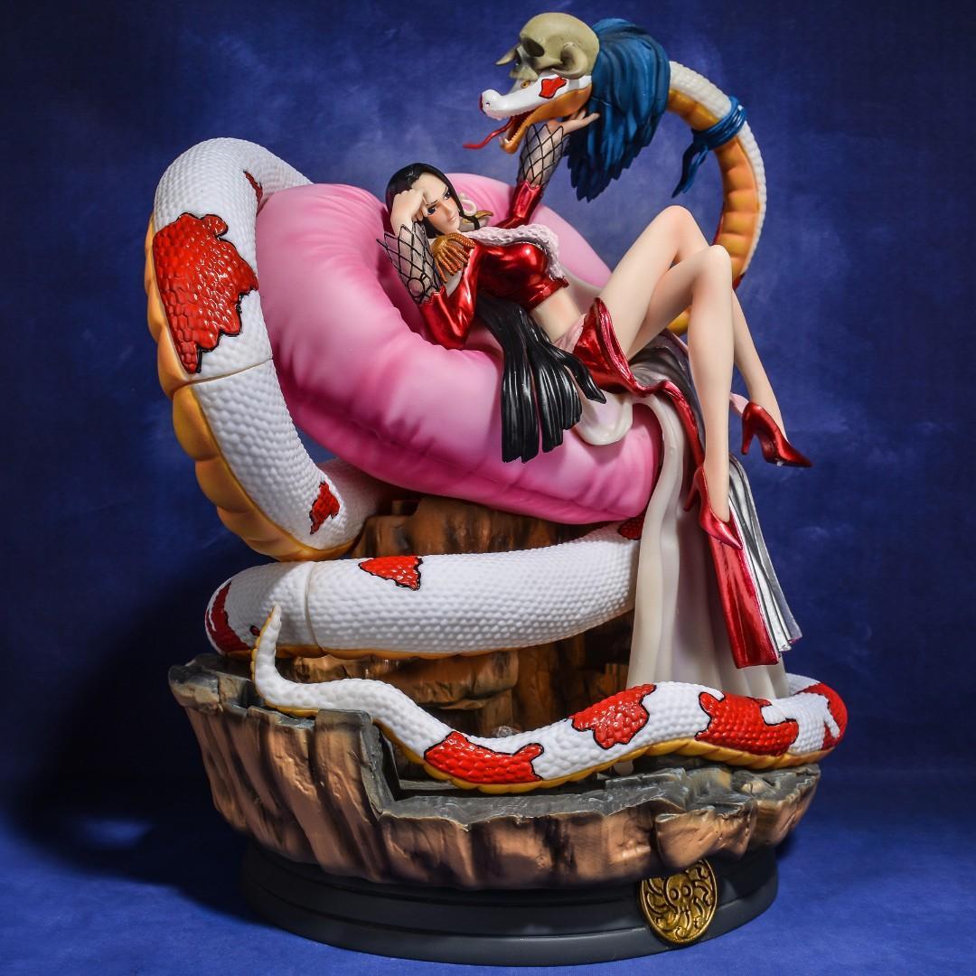 稀有超級巨無霸 海賊王女帝 王下七武海 女帝 蛇姬 波雅 漢庫克 GPS  GK 雕像手辦