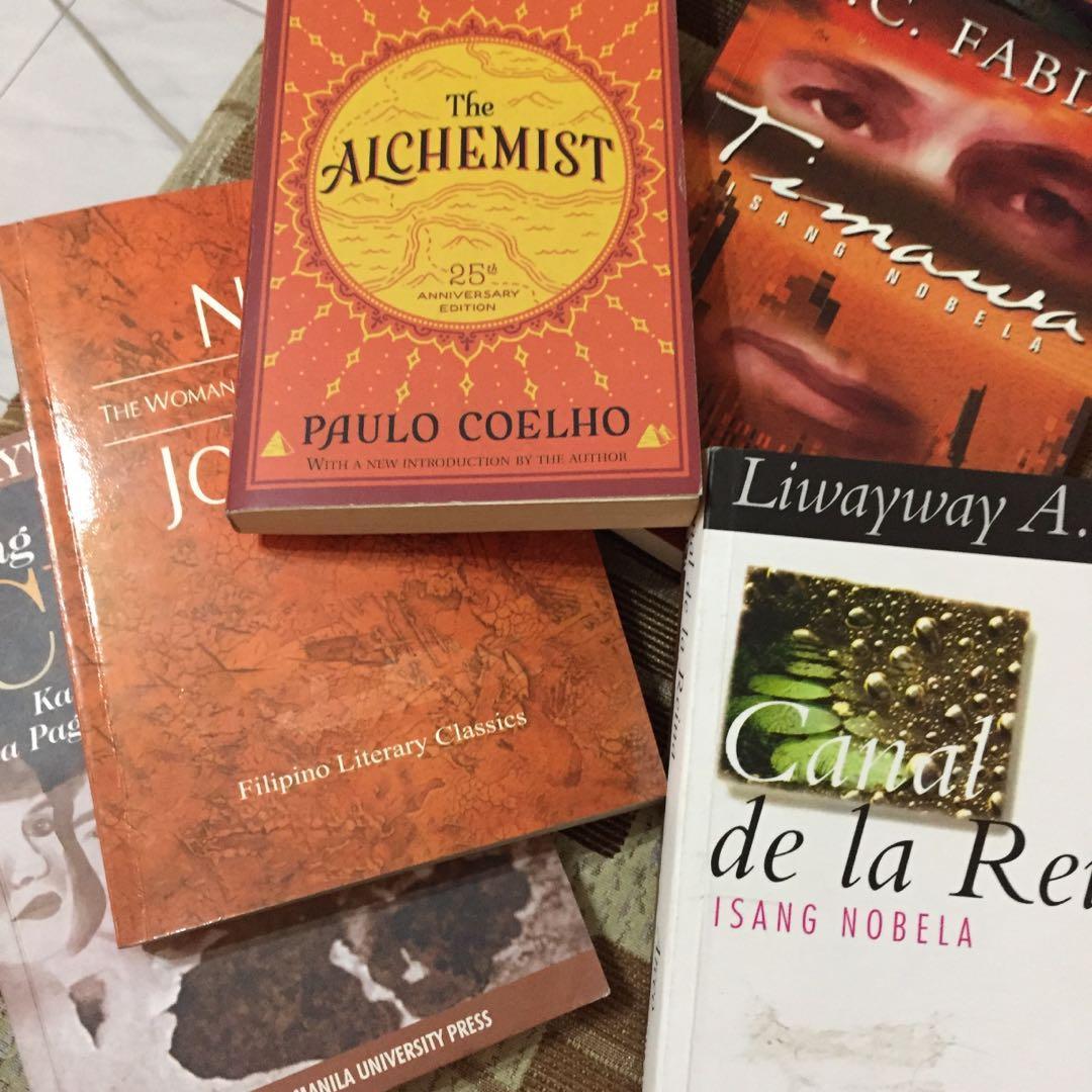 canal de la reina, timawa, titser, the alchemist, ang maganak na cruz, the woman who had two navels