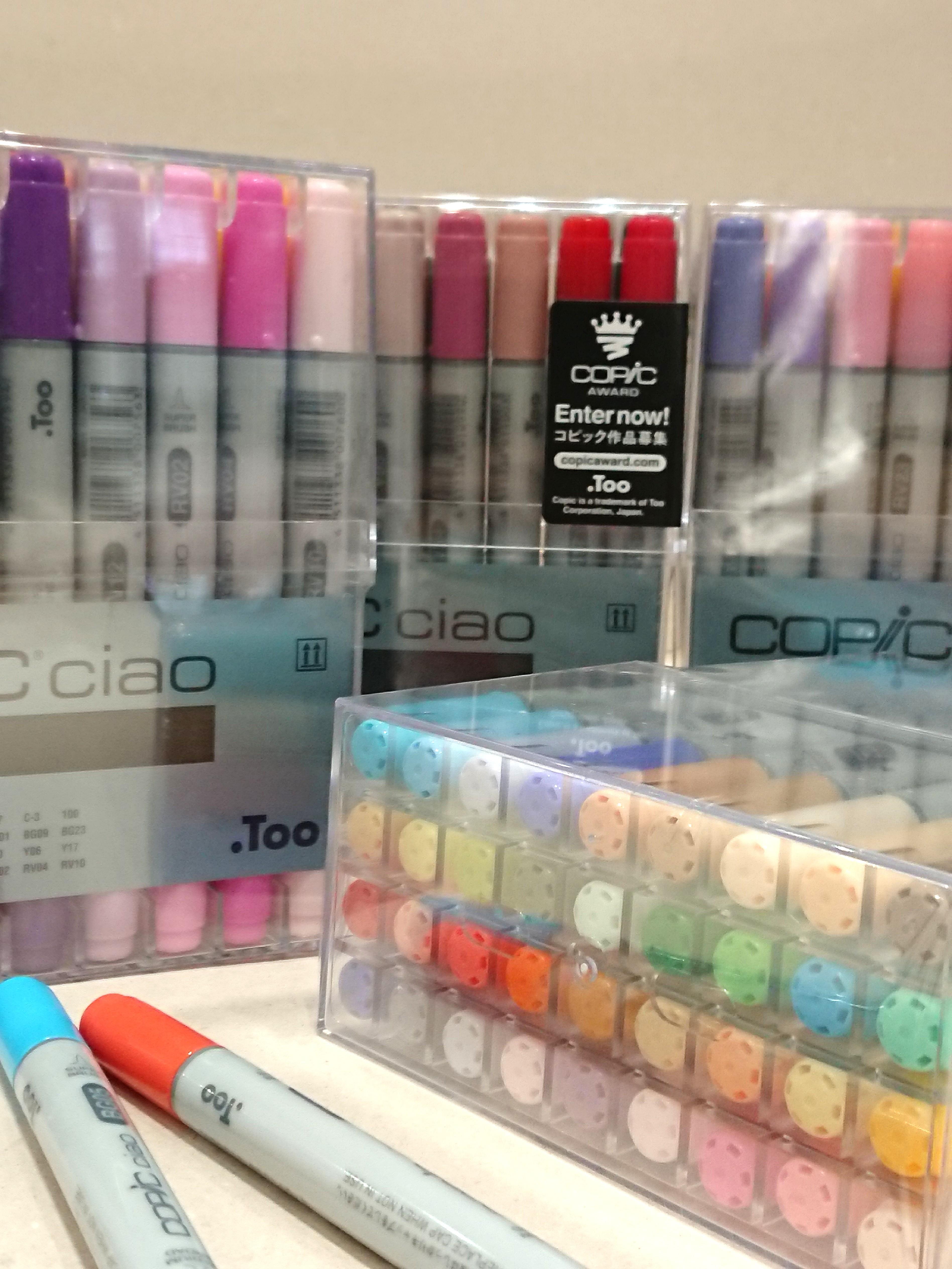 COPIC Ciao marker 36 colors set